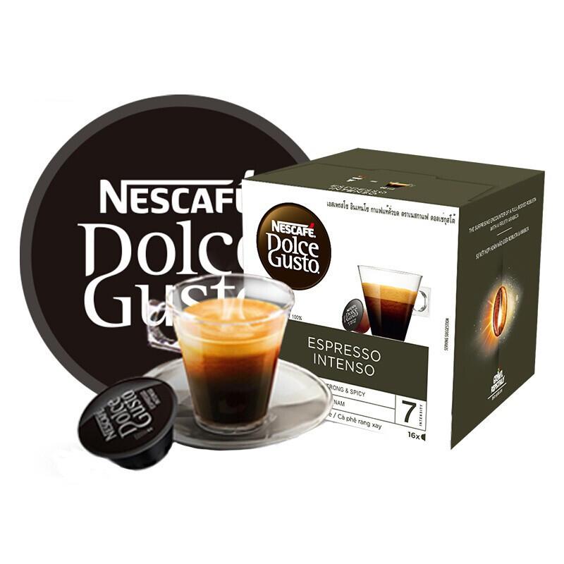 Dolce Gusto 黑咖啡胶囊 意式浓缩 16颗