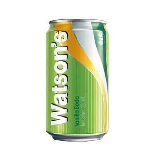 Watsons 屈臣氏 苏打汽水饮料 香草味 330ml*24听