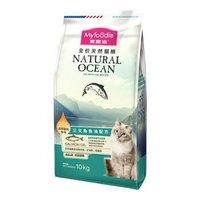 京东PLUS会员:Myfoodie 麦富迪 三文鱼油成猫粮 10kg
