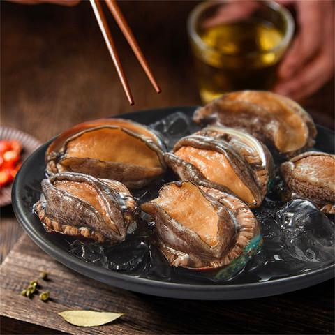 鲍鱼鲜活冷冻大鲍鱼500g生鲜水产加热即食佛跳墙捞饭
