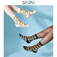 DAPU 大朴 酷熊系列 AF0W0200809000 中性款中筒袜