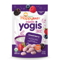 HappyBABY 禧贝 宝宝有机酸奶溶豆零食 混合莓味 28g