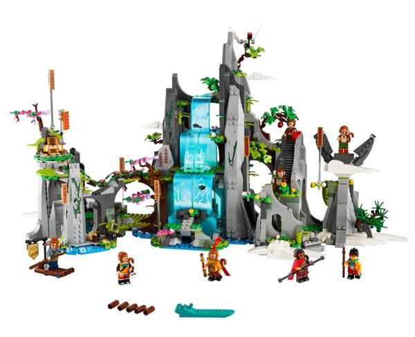 小编精选、新品发售:LEGO 乐高 悟空小侠系列 80024 传奇花果山+独家限定跨界礼盒