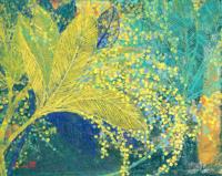 橙舍 简美背景墙装饰画 餐厅挂画油画 陈舜芝-璀璨