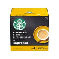 STARBUCKS 星巴克 多趣酷思 浓缩烘焙胶囊咖啡 12粒