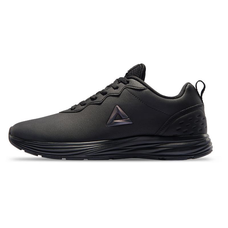 PEAK 匹克 男子跑鞋 DH840447 黑色/银灰 41