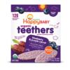 HAPPYBABY 禧贝 婴儿磨牙饼干 蓝莓紫胡萝卜味 48g