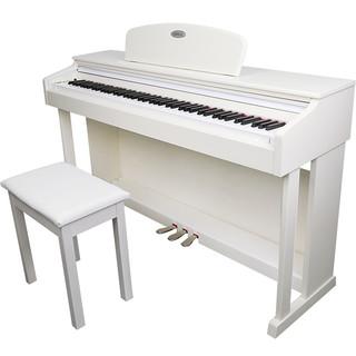 MIDWAY 美德威 S70 电钢琴 初学款 88键重锤 白色