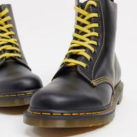 Dr Martens 1460 pascal 8 eye boot in dark grey