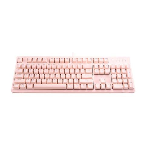 ThundeRobot 雷神 KC5104R 粉硬糖 机械键盘 红轴 粉色