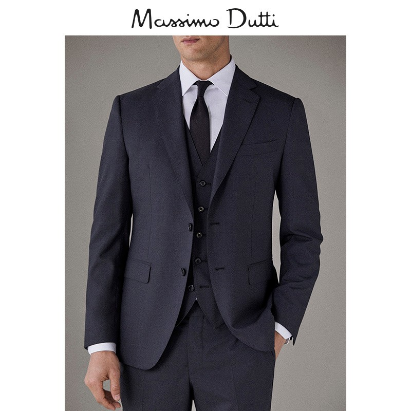 女神超惠买 : Massimo Dutti 02035271801 羊毛西装外套