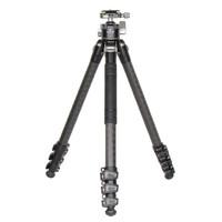 佰信(BESNFOTO) TX-T2130三脚架碳纤维 无中轴4节专业户外单反微单摄影摄像支架 三脚架云台套装