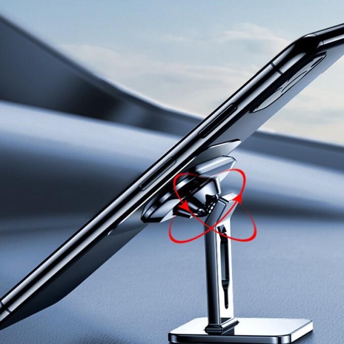 SACATEC 车载手机磁吸支架  亮银色