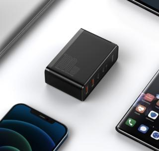 BASEUS 倍思 CCGAN100UC 手机充电器 2C2A 100W+Type-C数据线