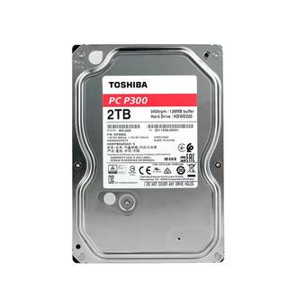 TOSHIBA 东芝 2TB 台式机机械硬盘 128MB 5400RPM SATA接口 P300系列(HDWD220)