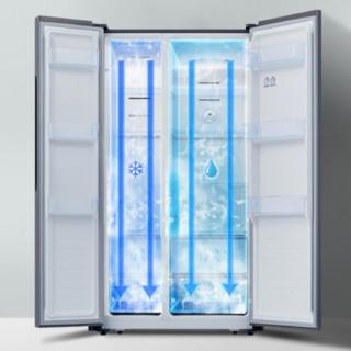 Hisense 海信 BCD-532WFK1DPQ 风冷对开门冰箱 532L
