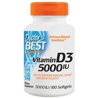 京东PLUS会员:Doctor's best 维生素D3 180粒