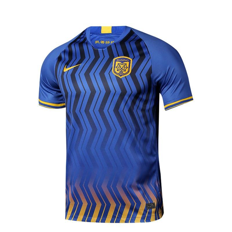 NIKE 耐克 蘇寧易購足球俱樂部球迷服 CI7655-480 藍色 M