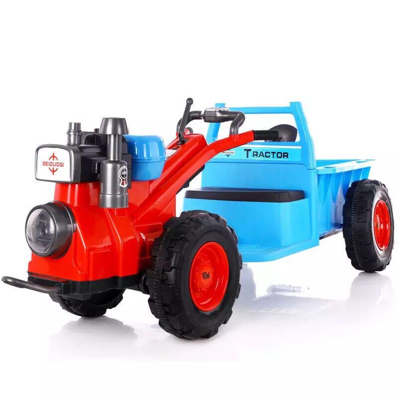 lookbaby 看寶貝 DQC003 拖拉機雙驅兒童電動車