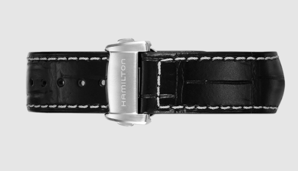 小编精选:经典大三针、亮眼蓝秒——HAMILTON 汉米尔顿 美国经典系列 H40555781 男士机械手表