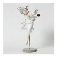 艺术眼吴克书《美人鱼》雕塑摆设摆件 白色