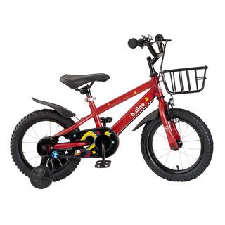 Happy Dino 小龙哈彼 LB1452-T106R 儿童自行车 升级版活力红 14寸