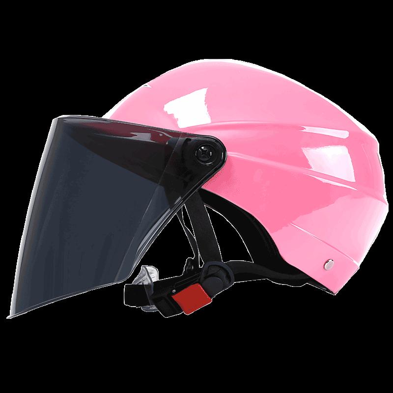 BLD 百利得 BLD-212 中性骑行头盔 浅粉