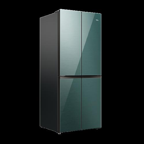 TCL BCD-398WBPZ50 风冷十字对开门冰箱 398L 翡冷翠