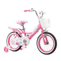 TOPRIGHT 途锐达 儿童自行车 魔法公主款 粉色 18寸