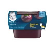 Gerber 嘉宝 婴幼儿苹果西梅泥 1段 56g*2