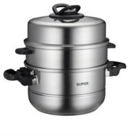 SUPOR 苏泊尔 SZ30T1 蒸锅(30cm、3层、304不锈钢)