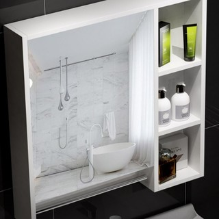 HOROW 希箭 MYSG-0578-HB-2 实木浴室柜组合 80cm
