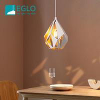 EGLO奧地利 北歐風情 幾何拼接鏤空吊燈 設計師款 三頭吊燈 1頭裝43001