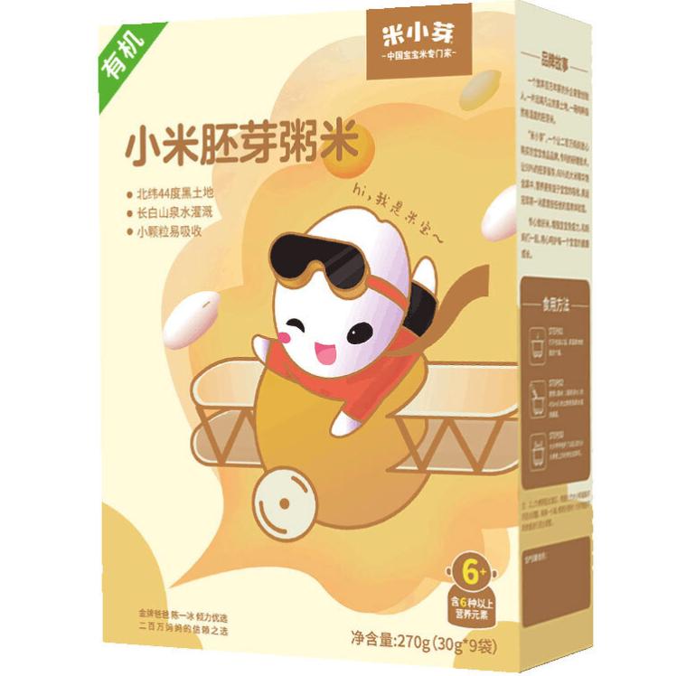 米小芽 小米胚芽粥米 270g