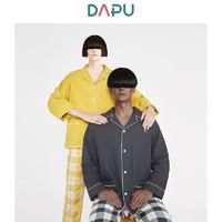 DAPU 大朴 情侣纯棉双层纱睡衣套装