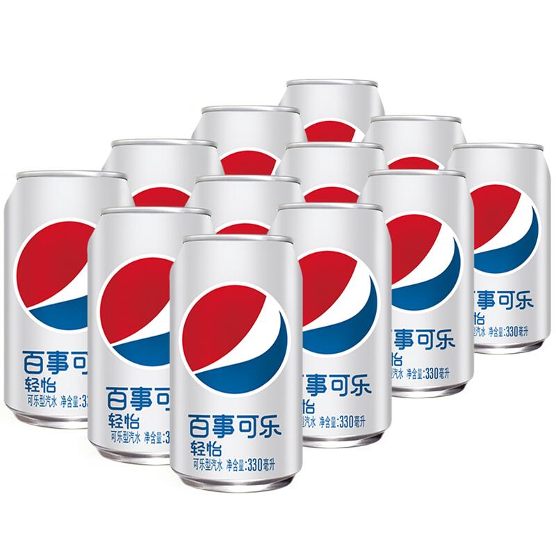 PEPSI 百事 輕怡 無糖可樂 330ml*12罐