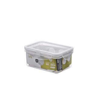 安立格 塑料保鲜盒带盖透明微波炉加热饭碗冰箱收纳专用水果食品级密封盒