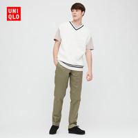 UNQLO 优衣库 422371 男士直筒裤