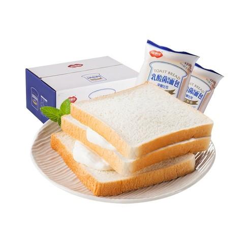 88VIP:蒙牛纯牛奶 250ml*16包 *2 + 福事多 乳酸菌吐司面包 1kg +凑单品