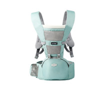 BETH BEAR 贝斯熊 BS8101 婴儿背带腰凳 四季通用透气款 青绿色