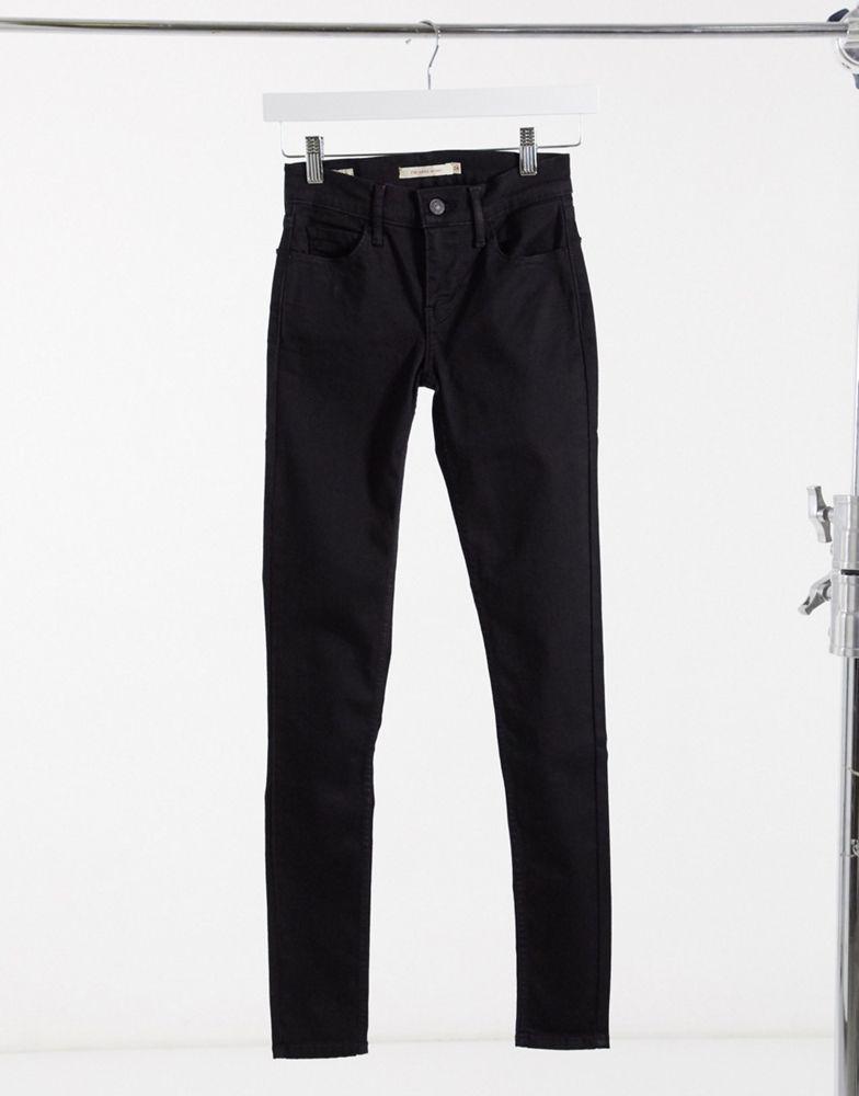 Levi's 710 Innovation super skinny galaxy jeans in black
