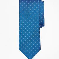 Herringbone Flower Tie