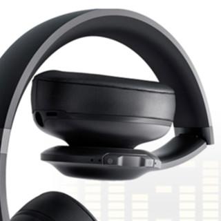 JBL 杰宝 V300NXT 耳罩式头戴式主动降噪蓝牙耳机 有线充电 黑色