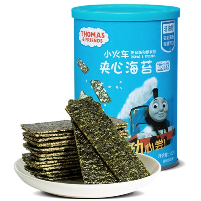 Thomas & Friends 托马斯和朋友 海苔夹心脆 芝麻味 40g