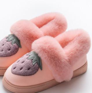 萱宜阁 女士棉拖鞋 XYG-B18076-1