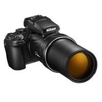 Nikon 尼康 COOLPIX P1000 3.2英寸数码相机 黑色(24-3000mm、F8.0)