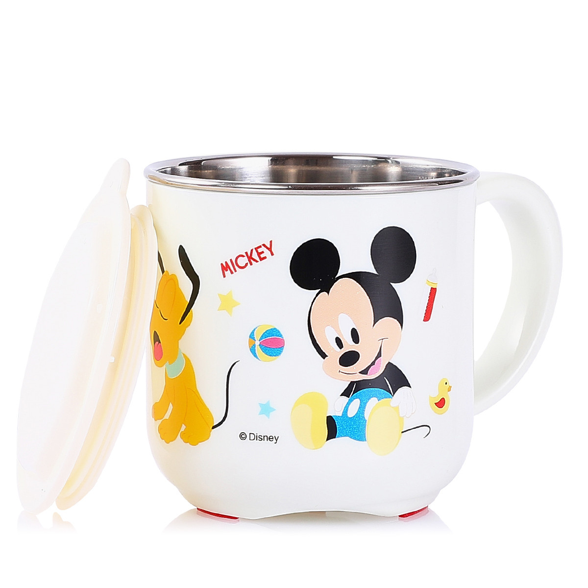 Disney 迪士尼 迪士尼联名系列 KDM2338 儿童水杯 米奇白 260ml