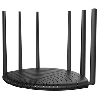 TP-LINK 普联 WDR7661千兆版 双频1900M 家用路由器 Wi-Fi 5  黑色 单个装
