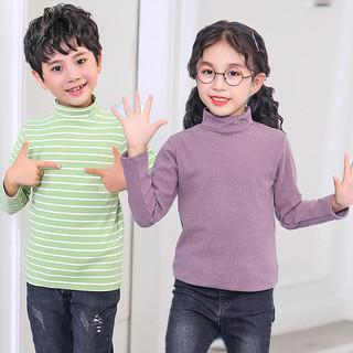 果贝猴 R0101 儿童半高领T恤