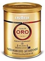 LAVAZZA Qualita Oro金标欧罗咖啡粉,中度烘焙,8.8盎司罐装/250克(4件装)